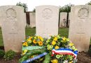 Headstone dedication for battle casualty – 100 years on