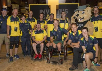 Aussie Invictus Games team ready for action