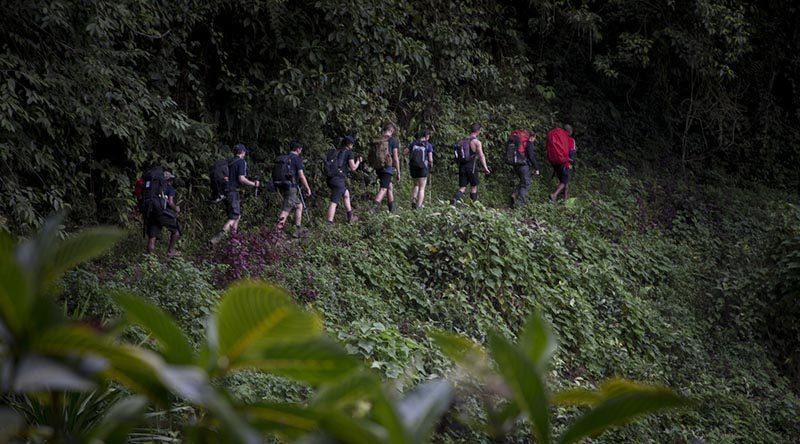 Junior Legatees take on Kokoda Trail