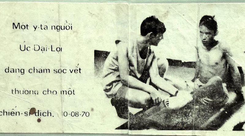 A propaganda leaflet used in Vietnam.