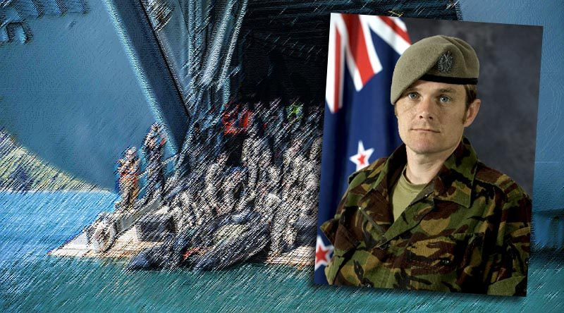 Sergeant Wayne Taylor, NZSAS, killed in training, 13 October 2017.