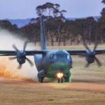 C-27J Spartan dirt-track training