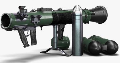 Carl Gustaf M4. Image courtesy of Saab.