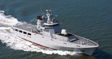 Lürssen of Germany wins $4billion OPV contract. Lürssen photo.