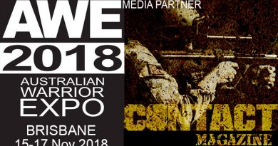 CONTACT magazine – official media partner of Australian Warrior Expo
