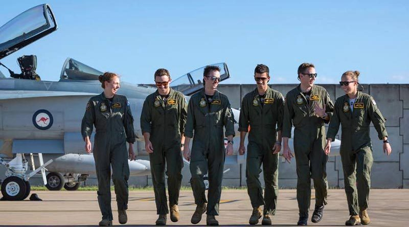 The RAAF's newest fighter pilots.