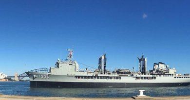 First Lady of the Fleet –HMAS Success.
