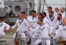 HMNZS Endeavour home for last time