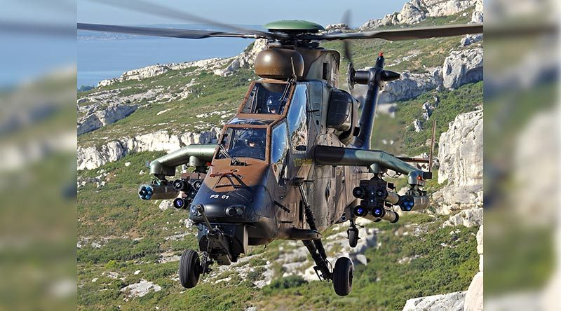 The first of 36 retrofits ordered by the French Ministry of Defence – and designated by France as Tiger Mk II. Airbus Helicopters photo.