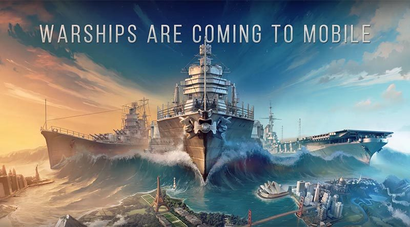 World of Warships Blitz brings naval battle to your phone