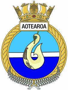 HMNZS Aotearoa's badge