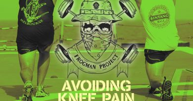 Frogman Project – avoiding knee pain