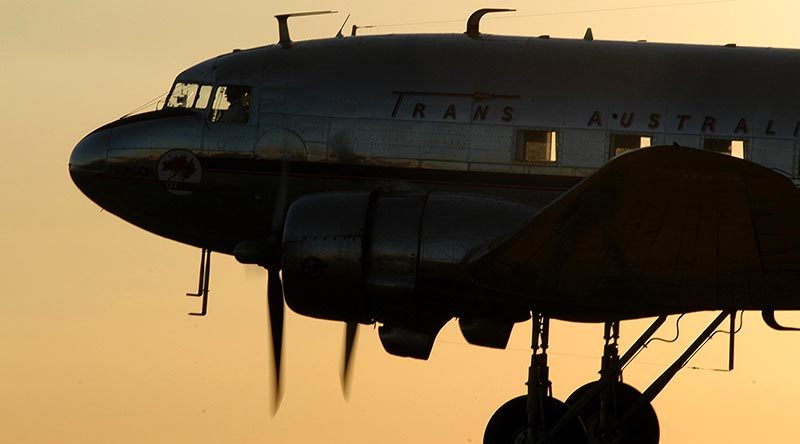 FILE PHOTO: A C-47 (DC3) at Avalon Airshow. Safe to say the aircraft in this story is not in similar condition. Photo by Brian Hartigan, 2005.