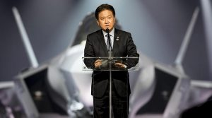 RoK's Vice Minister of National Defense Suh, Choo-suk. Photo by Angel DelCueto, Lockheed Martin.