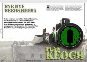 Plan Keogh expose (how the vehicles fit into infantry).