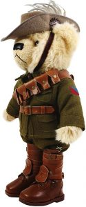 Trooper Bert Jones, the Light Horse Bear.