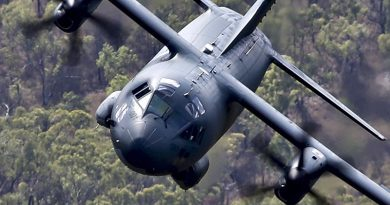 RAAF C-27J Spartan. Photo by Corporal David Said.