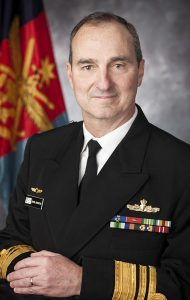 Vice Admiral David Johnston