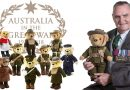 Donating Bears to School in the spirit of ANZAC education