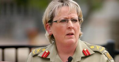 Major General Elizabeth Cosson (June 2008). Photograph by Lance Corporal Glenn Power.