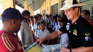 Gary Stone in Timor Leste.