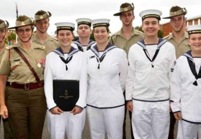 Military service runs deep in this family