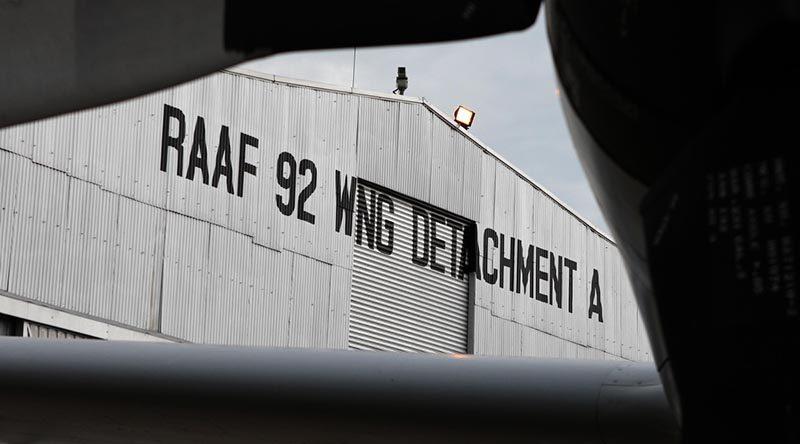 RAAF 92 Wing Detachment A Hangar, Butterworth Malaysia. ADF file photo (2008).