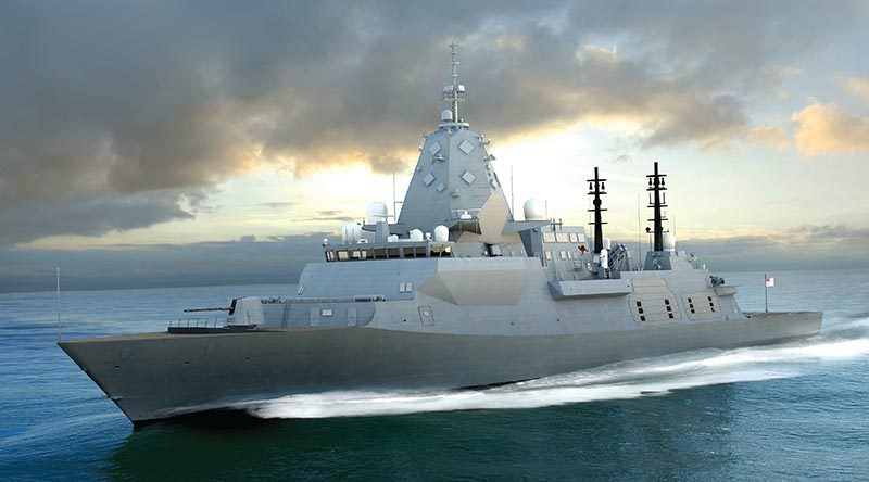 BAE Systems' Type 26 Global Combat Ship