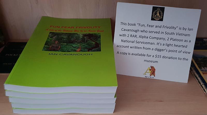 Ian Cavanough's book Fun, Fear, Frivolity now available as a paper book.