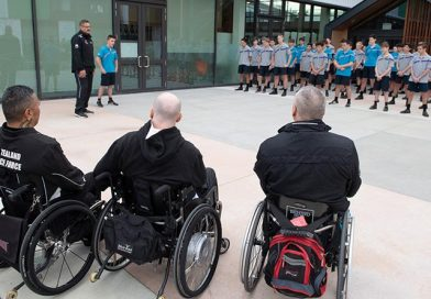 NZDF Invictus Team back to school on sport's healing power