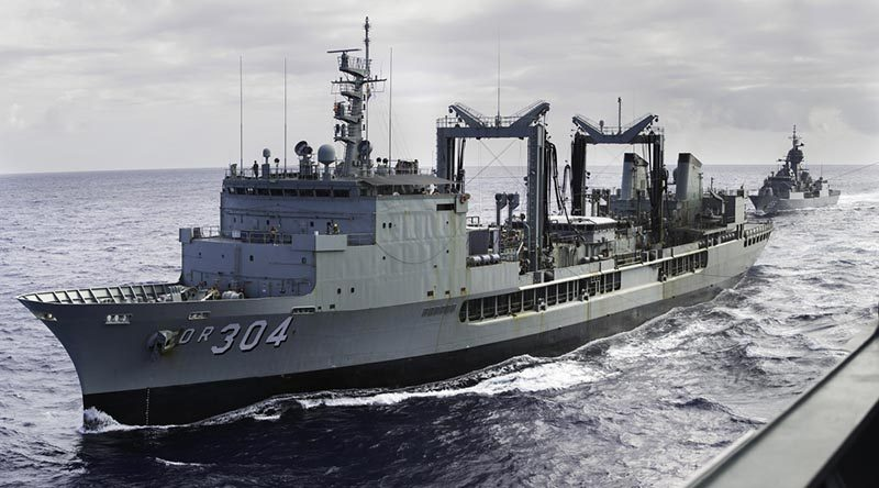 Aussie ships headed for Honiara and Rabaul