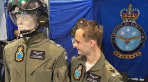 Recently promoted Cadet Flight Sergeant Tomasz Kocimski of No 604 Squadron reflects on his time qualifying, at age 16, as a solo pilot (power) and solo pilot (gliding) with No 600 Aviation Training Squadron, AAFC. He has also completed the General Flying Proficiency Test, and qualified for the AAFC Cadet Pilot Badge. Photo by Flying Officer (AAFC) Paul Rosenzweig.