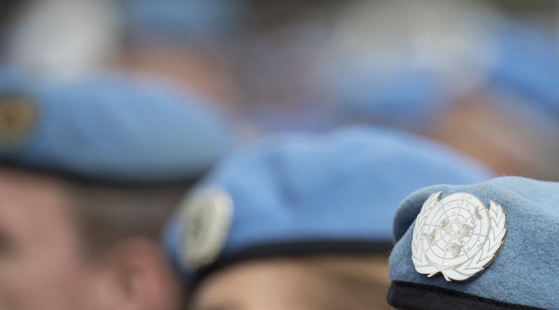 Australian Peacekeepers parade in Canberra on National Peacekeepers and Peacemakers Day (2017). Photo by Jay Cronan.