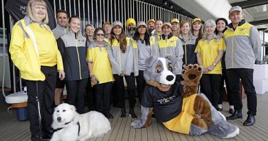Official workforce uniforms of the Invictus Games Sydney 2018. ADF photo.