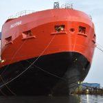 New Australian icebreaker floated