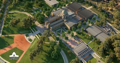 Artist's impression of the Australian War Memorial expansion. AWM image.