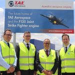 Breaking ground on F-35 engine-maintenance facility