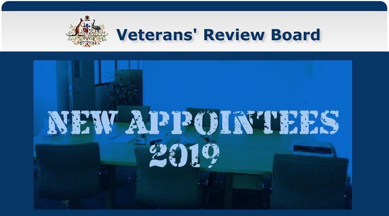 New members of the Veterans' Review Board appointed