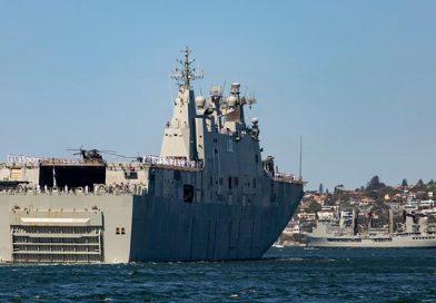 Joint Task Groups departs Sydney