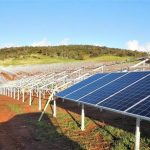 Defence's first large-scale solar power array opened