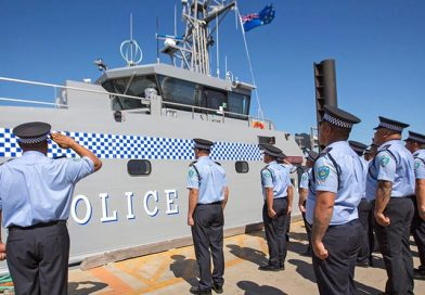 New patrol boat gifted to Tuvalu