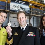 Official keel-laying ceremony for first Arafura class
