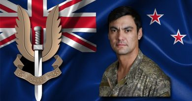 Lance Corporal Nicholas Kahotea, 1st New Zealand Special Air Service Regiment, killed in training, 8 May 2019.