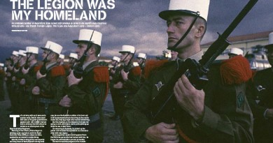"""Intro spread from """"The Legion was my Homeland"""", first published in CONTACT Air Land & Sea issue 1 - March 2004."""