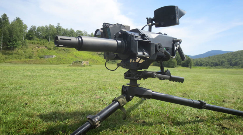 The new MK47 Light Weight Automatic Grenade Launcher.