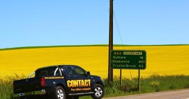 CONTACT Magazine's company car 'Bruce' on the road to South Australia. Photo by Brian Hartigan