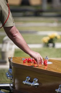 Major General 'Digger' James funeral