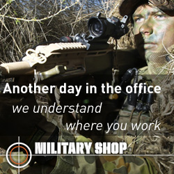 Visit MILITARY SHOP for your essential field-gear needs