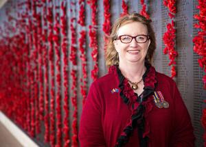 Jan-Maree Ball, founder of Aussie Hero Quilts