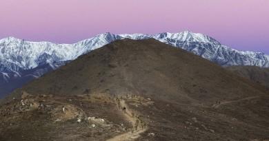 Afghan sunrise, Christmas Eve 2015, by Corporal Oliver Carter